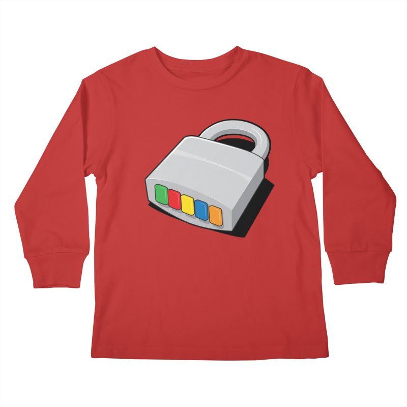 Code Hero Kids Longsleeve T-Shirt by Paulo Bruno Artist Shop