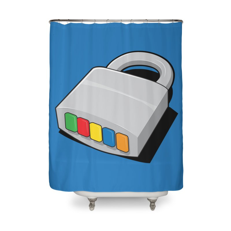 Code Hero Home Shower Curtain by Paulo Bruno Artist Shop