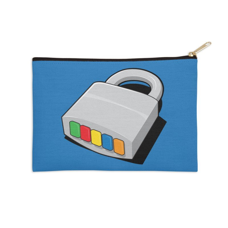 Code Hero Accessories Zip Pouch by Paulo Bruno Artist Shop