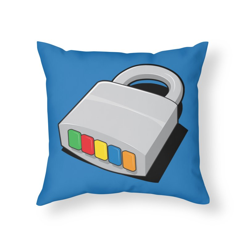 Code Hero Home Throw Pillow by Paulo Bruno Artist Shop