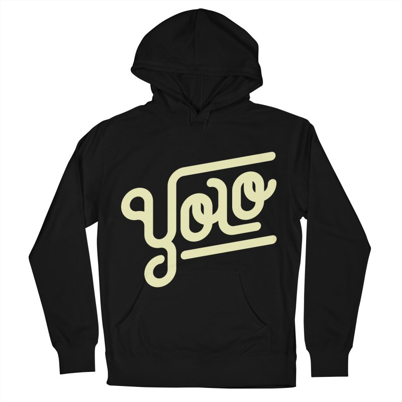 You Only Live Once Men's Pullover Hoody by Paulo Bruno Artist Shop