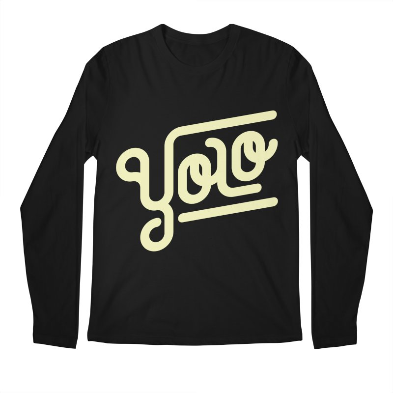 You Only Live Once Men's Longsleeve T-Shirt by Paulo Bruno Artist Shop