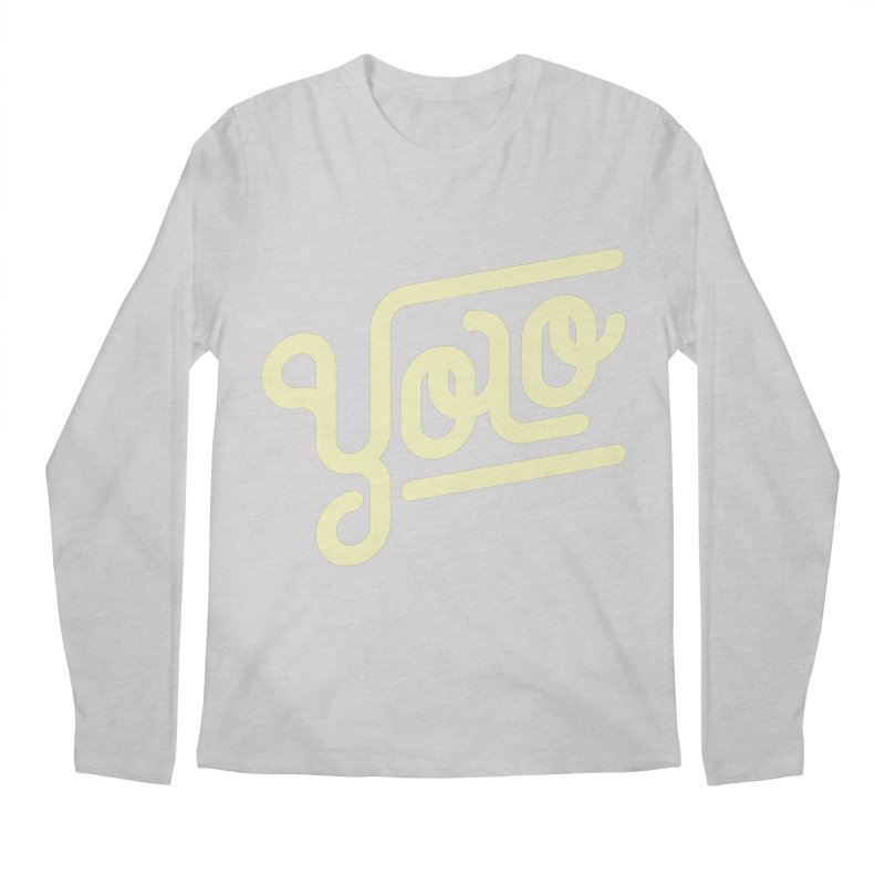 You Only Live Once Men's Regular Longsleeve T-Shirt by Paulo Bruno Artist Shop