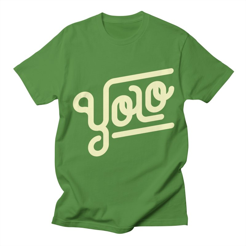 You Only Live Once Men's T-shirt by Paulo Bruno Artist Shop