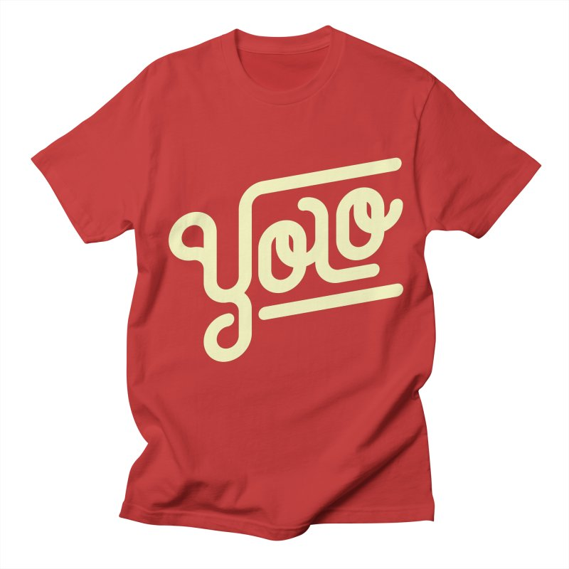 You Only Live Once Men's Regular T-Shirt by Paulo Bruno Artist Shop