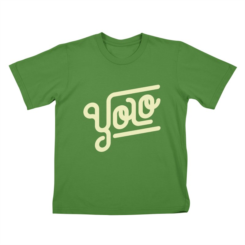 You Only Live Once Kids T-shirt by Paulo Bruno Artist Shop