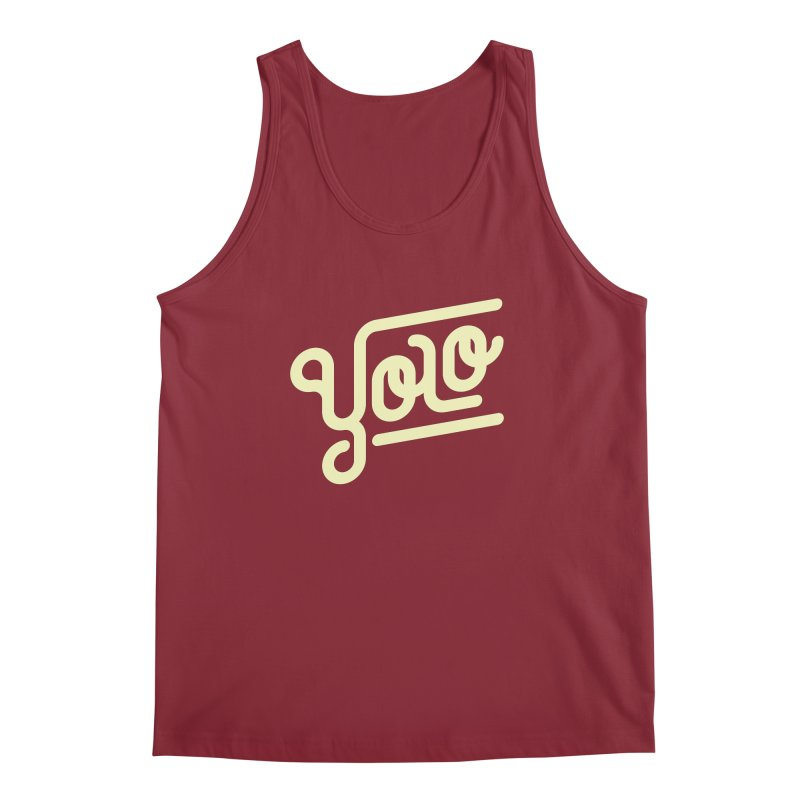 You Only Live Once Men's Regular Tank by Paulo Bruno Artist Shop