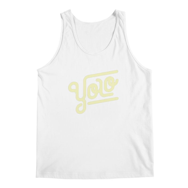 You Only Live Once Men's Tank by Paulo Bruno Artist Shop