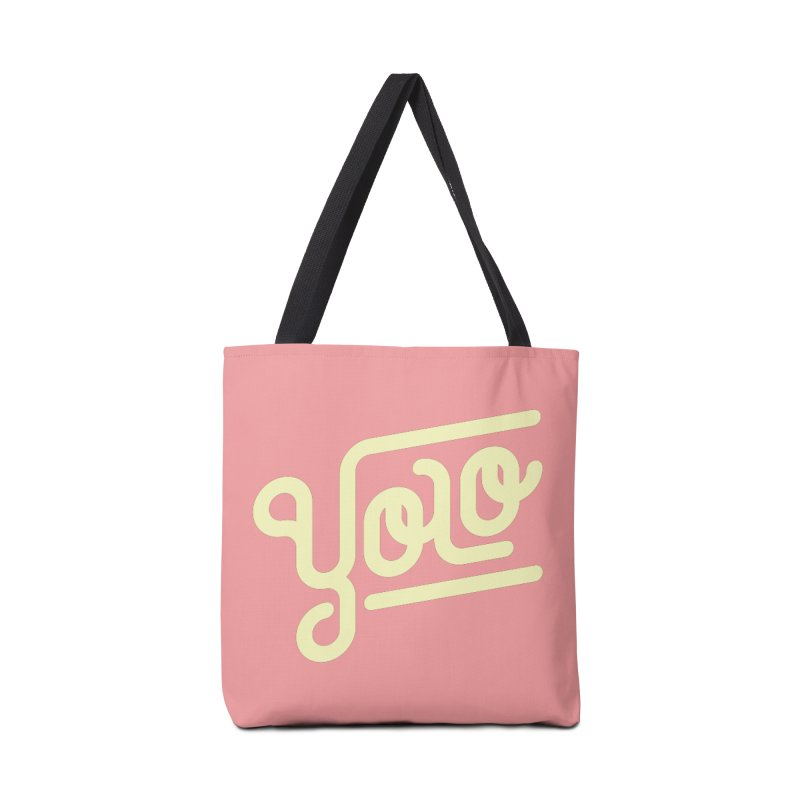 You Only Live Once Accessories Bag by Paulo Bruno Artist Shop