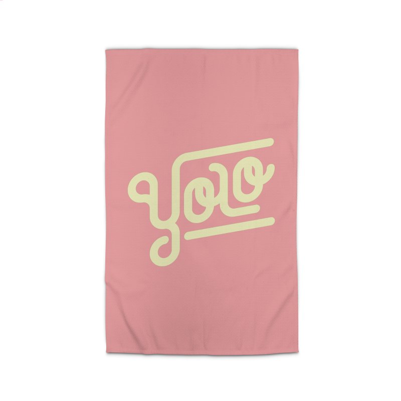 You Only Live Once Home Rug by Paulo Bruno Artist Shop