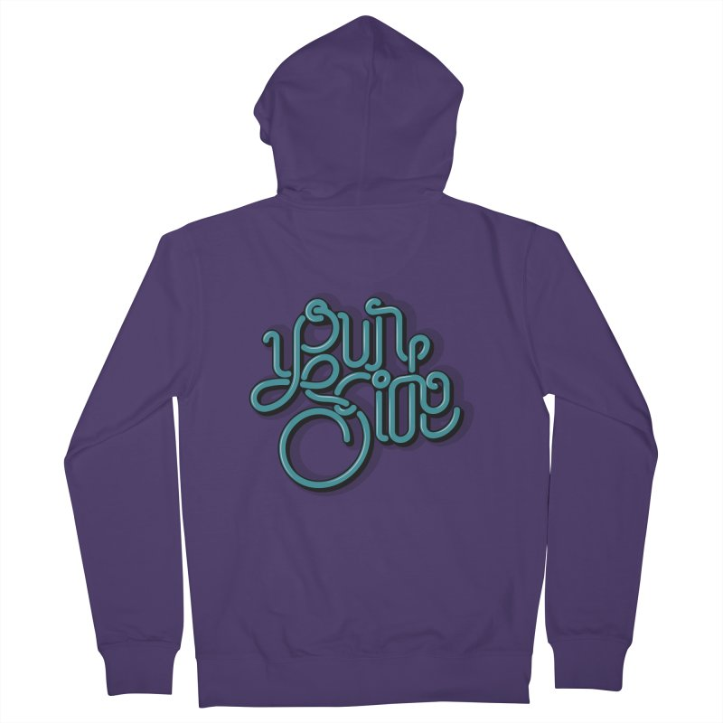 Your Side Women's French Terry Zip-Up Hoody by Paulo Bruno Artist Shop