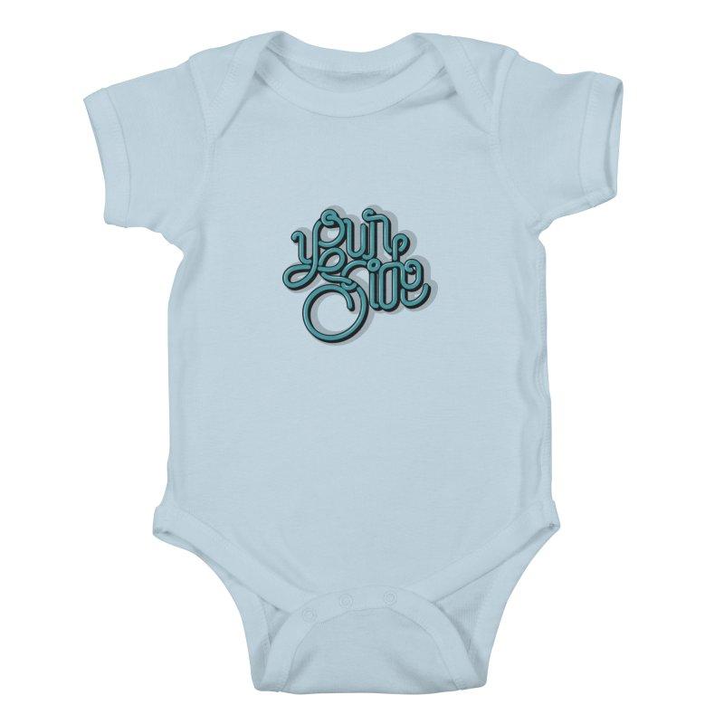 Your Side Kids Baby Bodysuit by Paulo Bruno Artist Shop