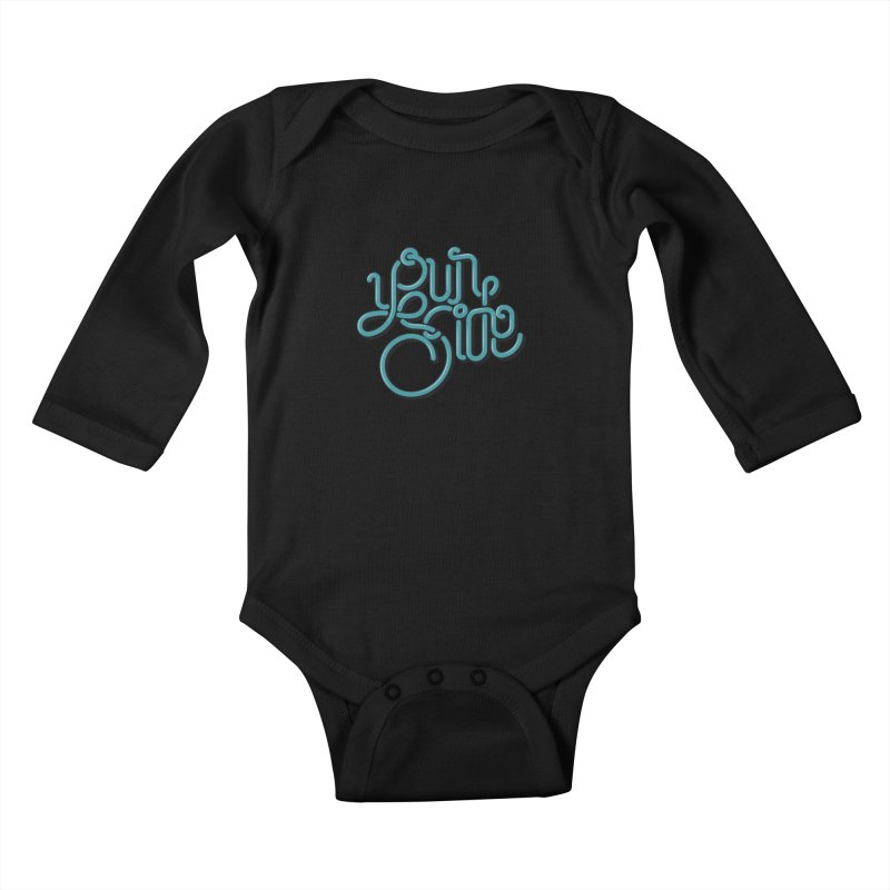 Your Side Kids Baby Longsleeve Bodysuit by Paulo Bruno Artist Shop