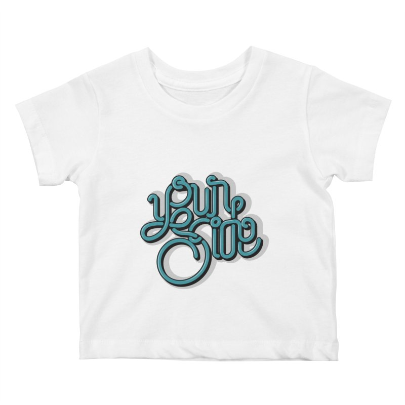 Your Side Kids Baby T-Shirt by Paulo Bruno Artist Shop