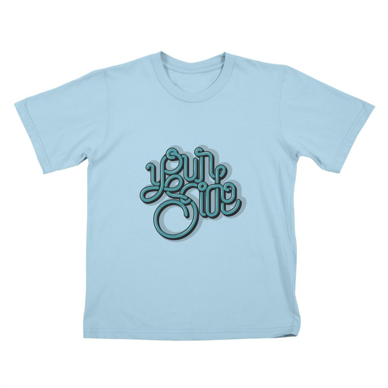 Your Side Kids T-Shirt by Paulo Bruno Artist Shop