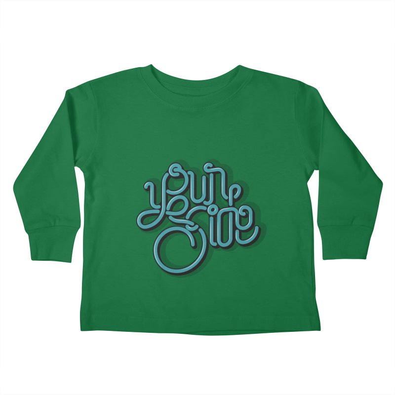 Your Side Kids Toddler Longsleeve T-Shirt by Paulo Bruno Artist Shop