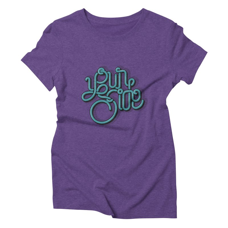 Your Side Women's Triblend T-shirt by Paulo Bruno Artist Shop