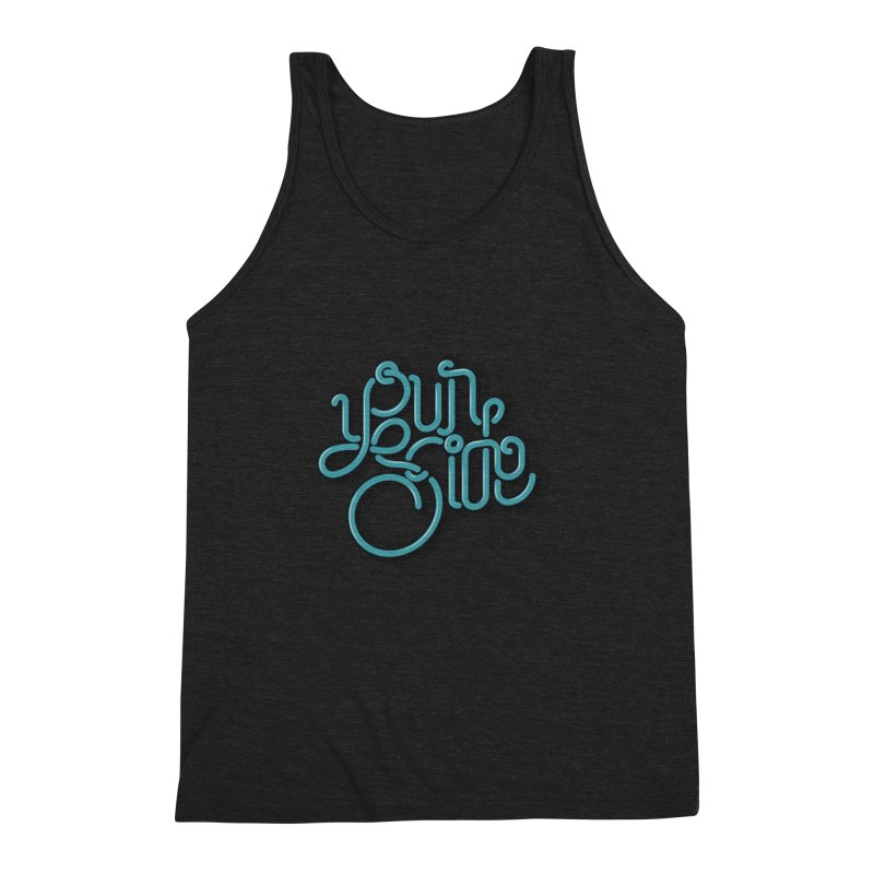 Your Side Men's Triblend Tank by Paulo Bruno Artist Shop