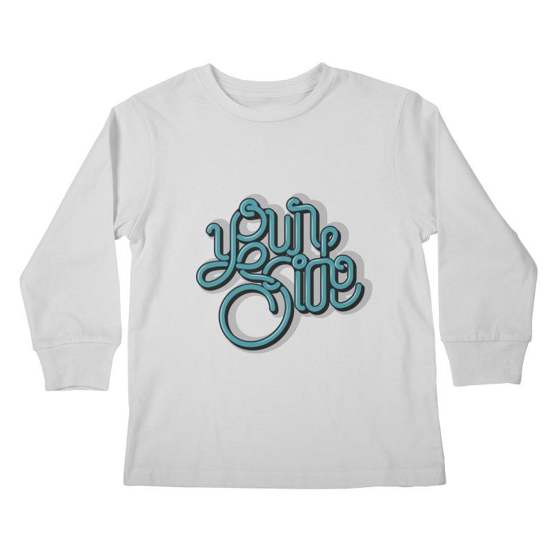 Your Side Kids Longsleeve T-Shirt by Paulo Bruno Artist Shop