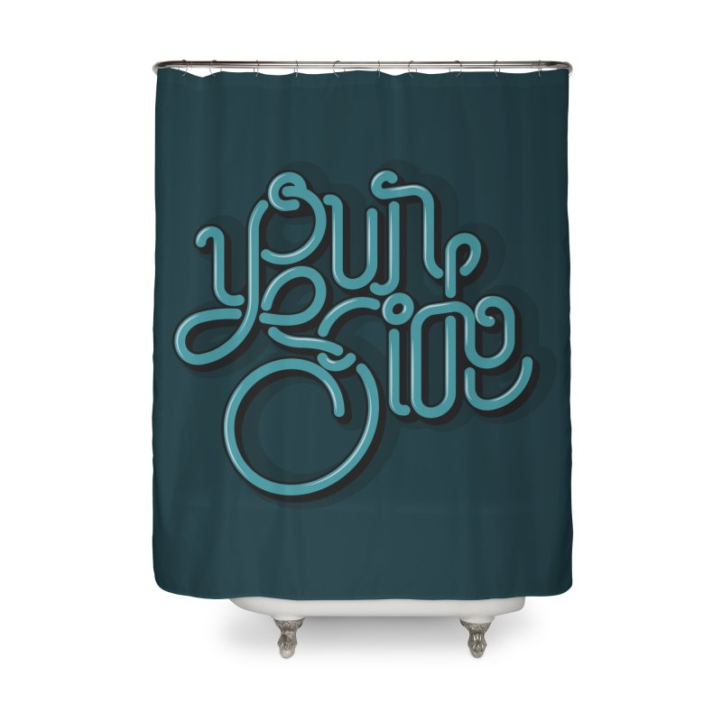 Your Side Home Shower Curtain by Paulo Bruno Artist Shop
