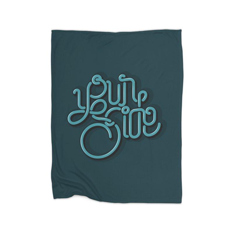 Your Side Home Fleece Blanket Blanket by Paulo Bruno Artist Shop