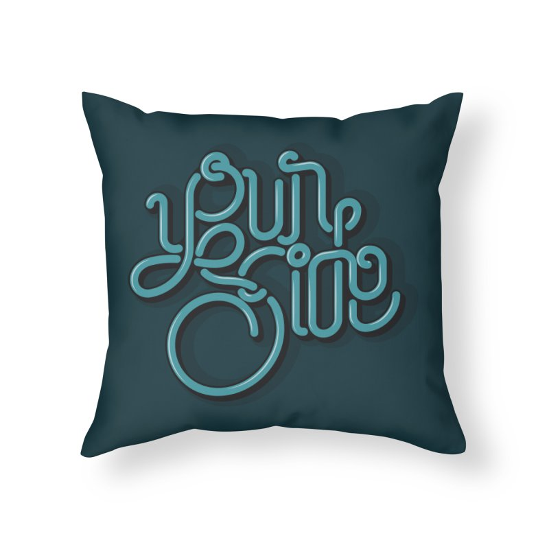 Your Side Home Throw Pillow by Paulo Bruno Artist Shop