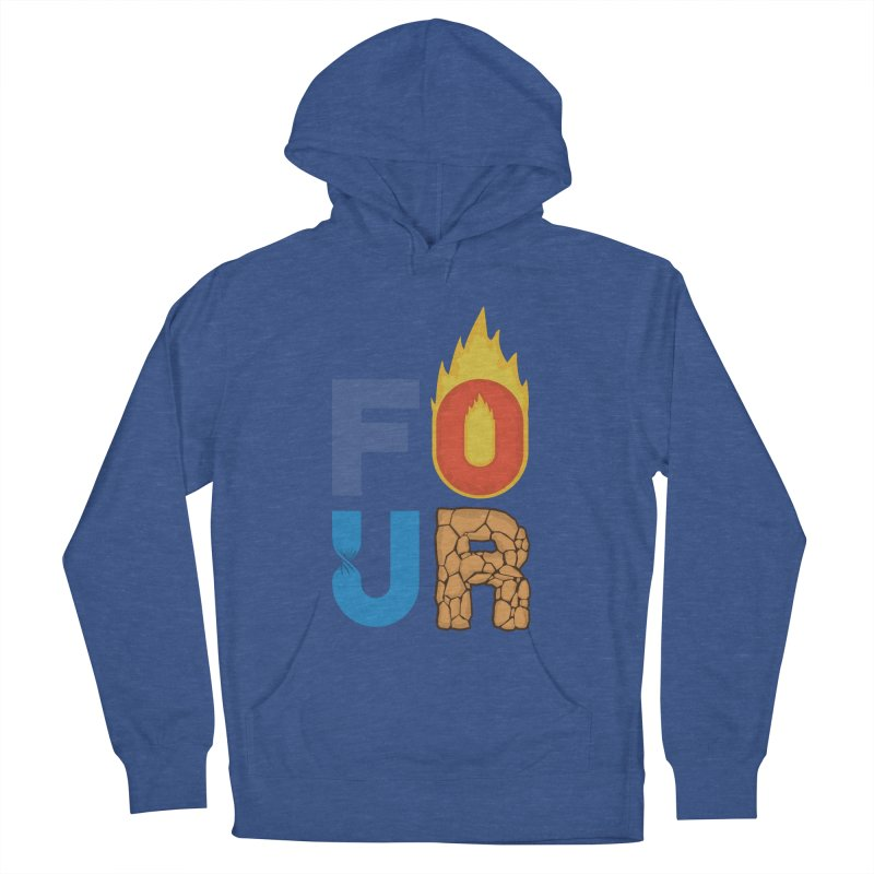 The Four Women's French Terry Pullover Hoody by Paulo Bruno Artist Shop