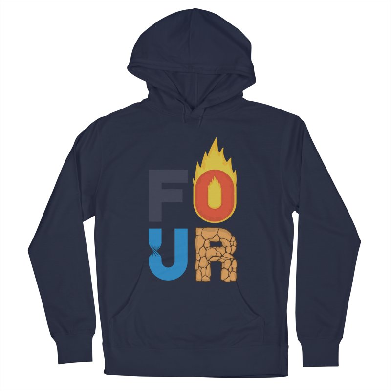 The Four Women's Pullover Hoody by Paulo Bruno Artist Shop