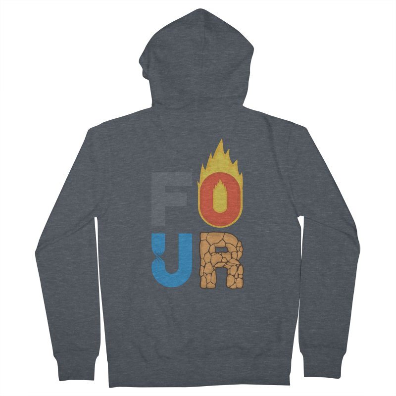 The Four Women's Zip-Up Hoody by Paulo Bruno Artist Shop