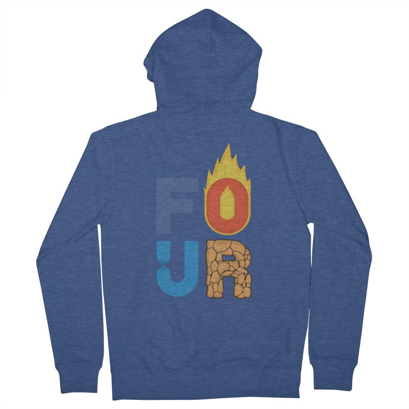 The Four Men's Zip-Up Hoody by Paulo Bruno Artist Shop