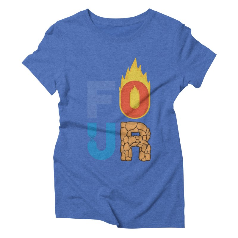 The Four Women's Triblend T-Shirt by Paulo Bruno Artist Shop