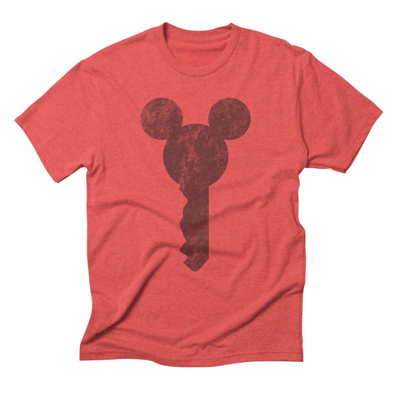 MicKey Men's Triblend T-Shirt by Paulo Bruno Artist Shop