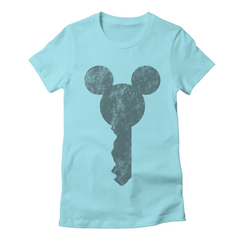 MicKey Women's Fitted T-Shirt by Paulo Bruno Artist Shop