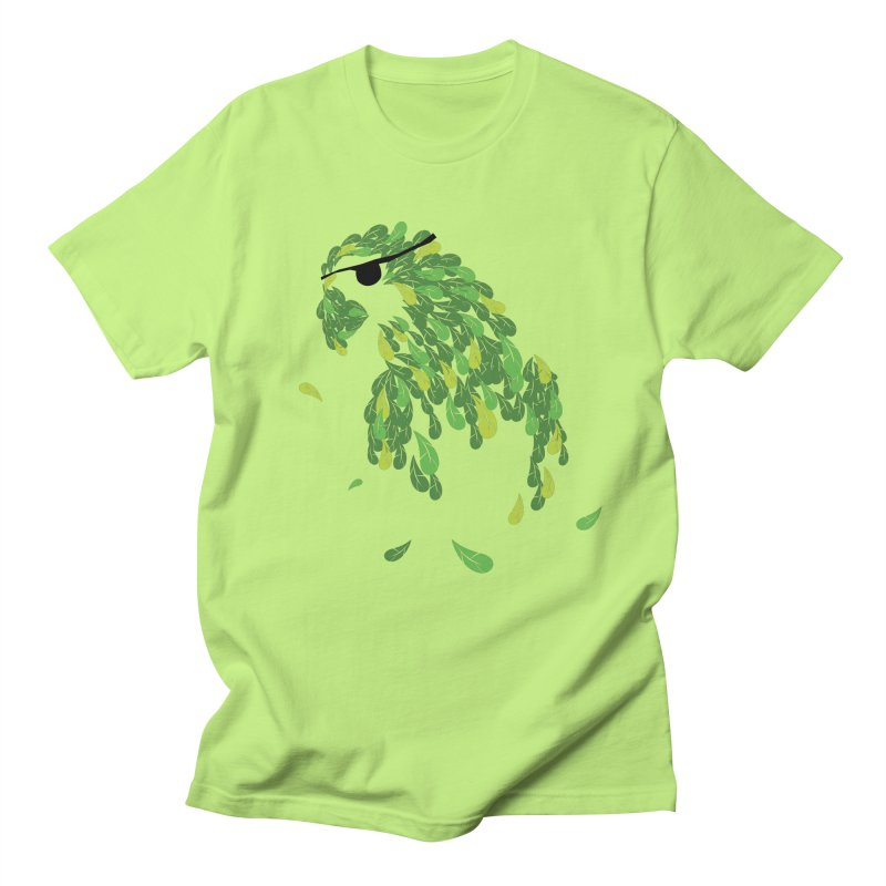 Pirates Parrot  Men's Regular T-Shirt by Paulo Bruno Artist Shop
