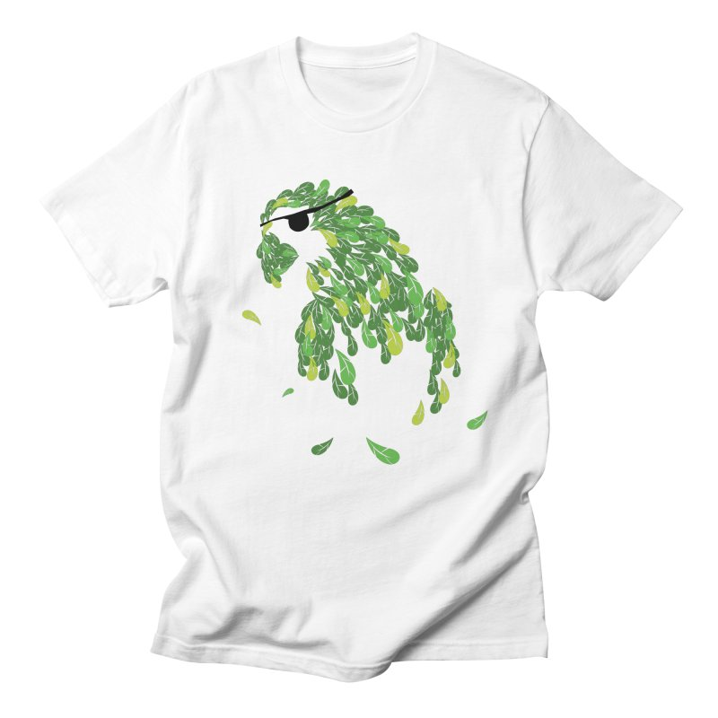 Pirates Parrot  Men's T-Shirt by Paulo Bruno Artist Shop