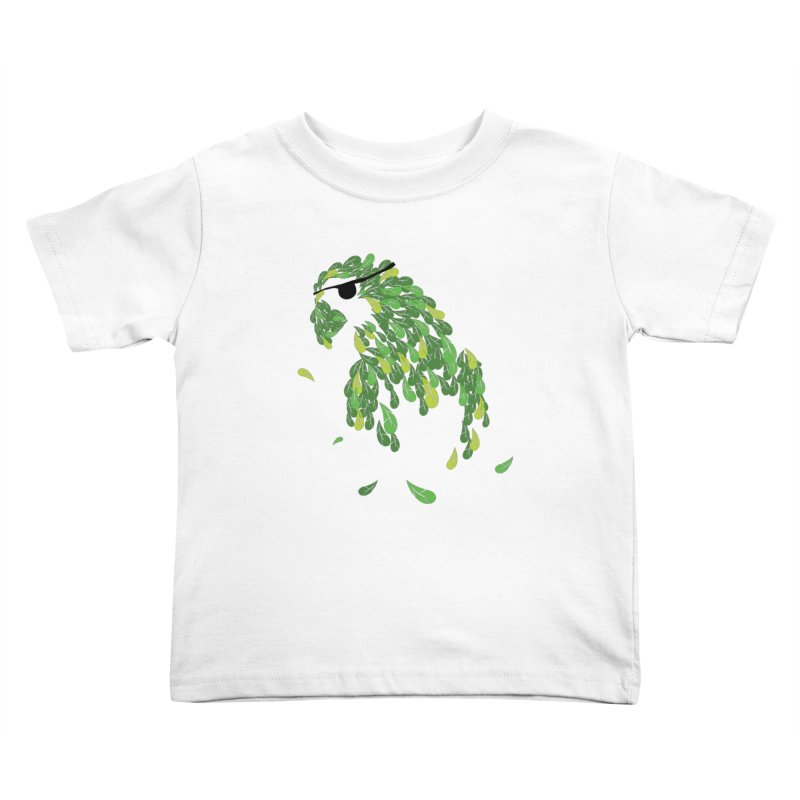 Pirates Parrot  Kids Toddler T-Shirt by Paulo Bruno Artist Shop