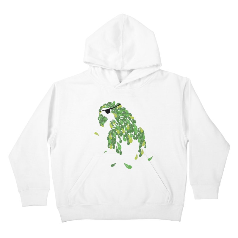 Pirates Parrot  Kids Pullover Hoody by Paulo Bruno Artist Shop