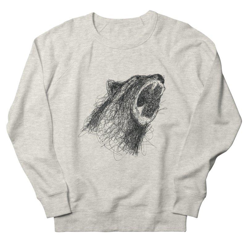 Line Bear Women's Sweatshirt by Paulo Bruno Artist Shop
