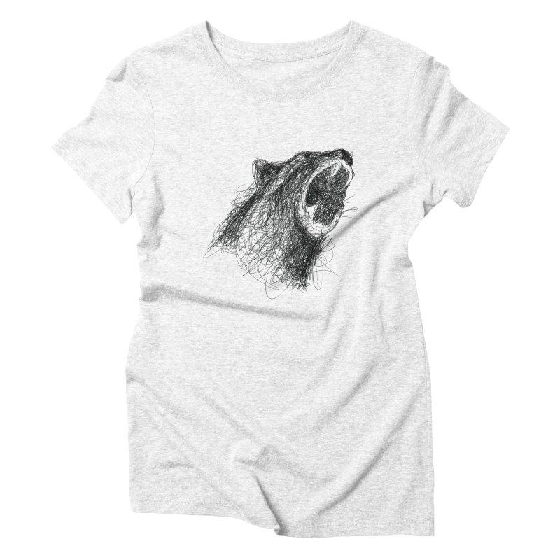 Line Bear   by Paulo Bruno Artist Shop