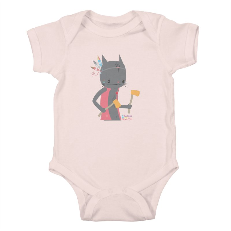 GOLDEN AXE - EP02 Kids Baby Bodysuit by PAUL PiERROt  Artist Shop