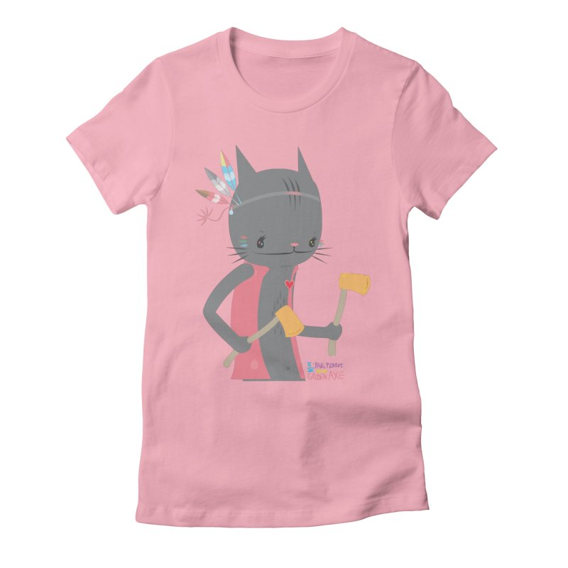 GOLDEN AXE - EP02 Women's Fitted T-Shirt by PAUL PiERROt  Artist Shop