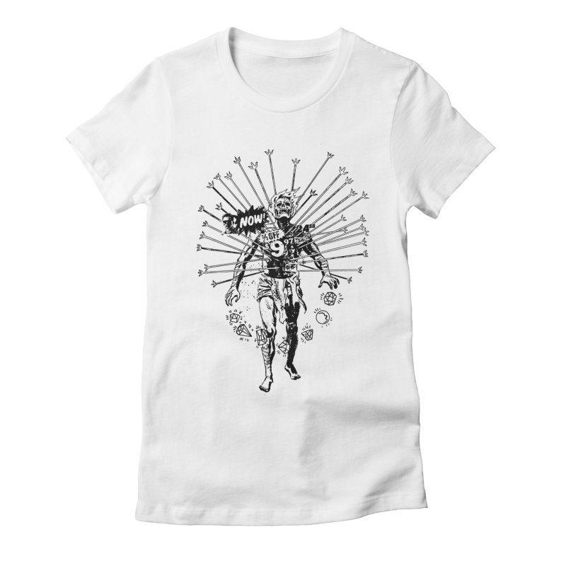 The Jewel Collector Women's Fitted T-Shirt by Paul Rentler