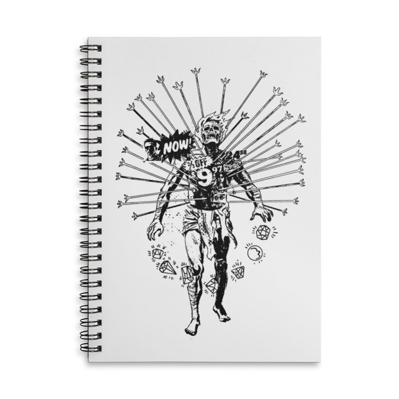 The Jewel Collector Accessories Lined Spiral Notebook by Paul Rentler