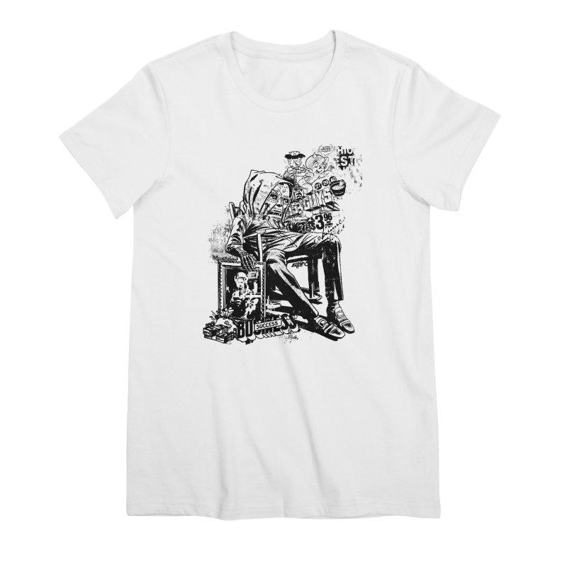 DOOMED Women's Premium T-Shirt by Paul Rentler