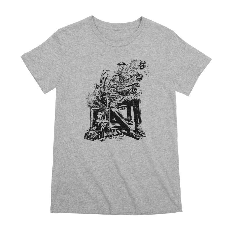 DOOMED Women's Premium T-Shirt by Paul Rentler