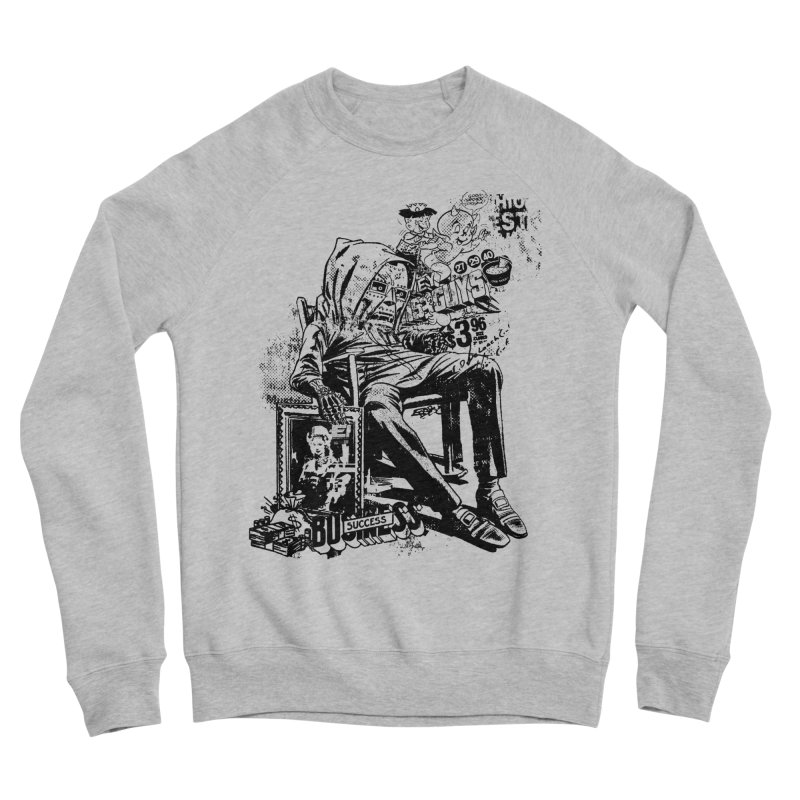 DOOMED Men's Sponge Fleece Sweatshirt by Paul Rentler