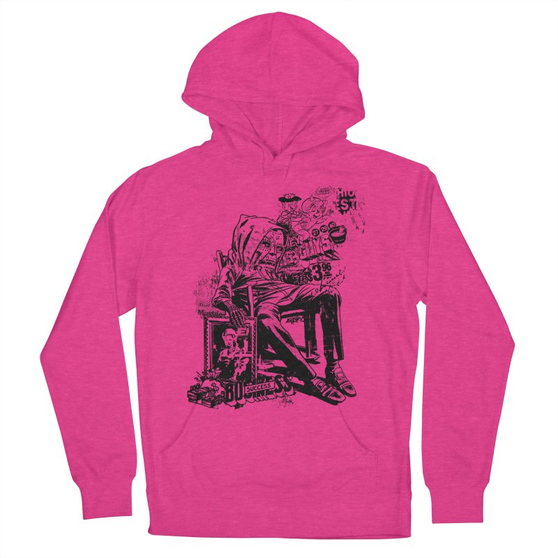 DOOMED Women's French Terry Pullover Hoody by Paul Rentler