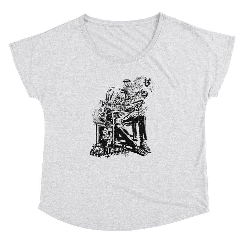 DOOMED Women's Dolman Scoop Neck by Paul Rentler