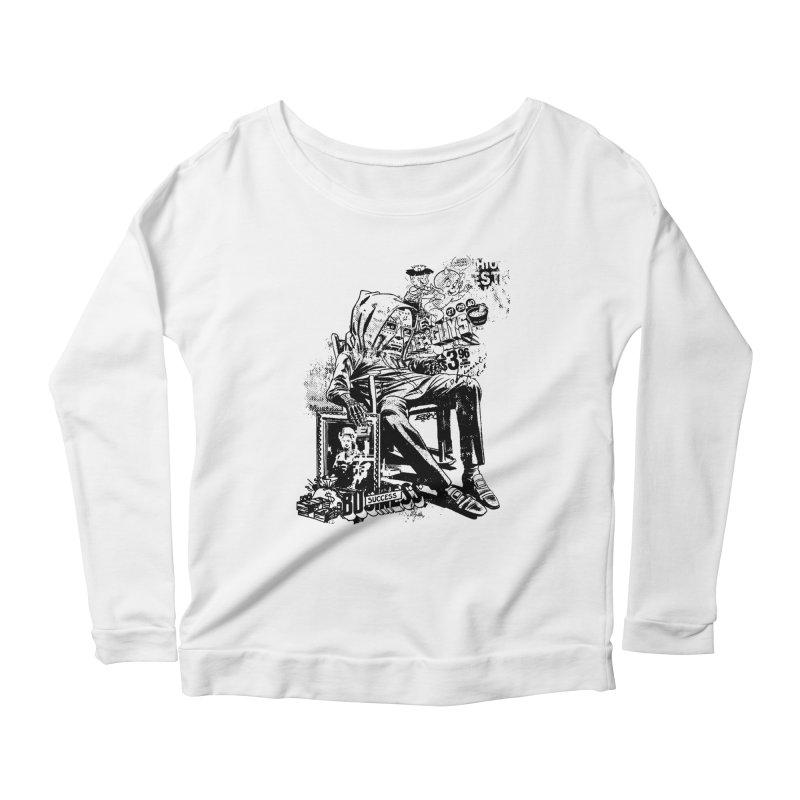 DOOMED Women's Scoop Neck Longsleeve T-Shirt by Paul Rentler