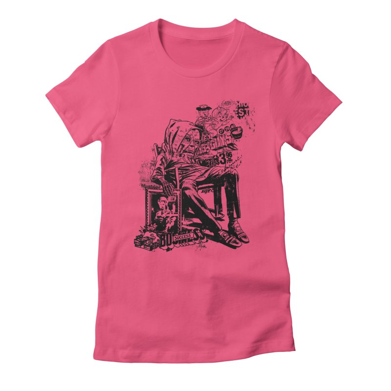DOOMED Women's Fitted T-Shirt by Paul Rentler